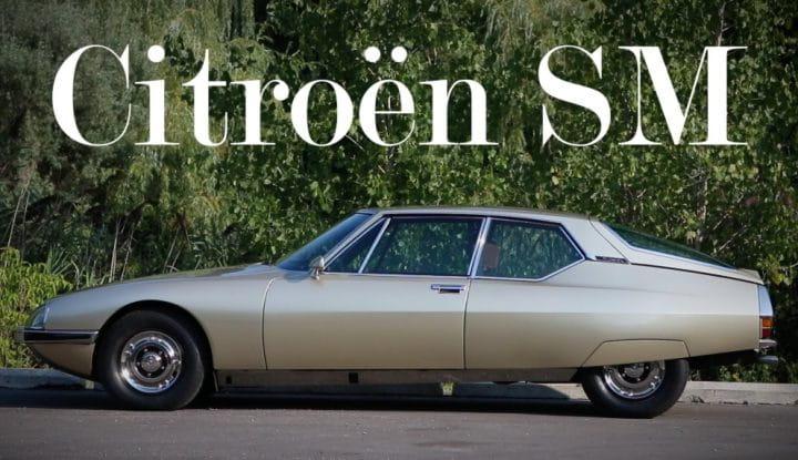 The Citroën SM