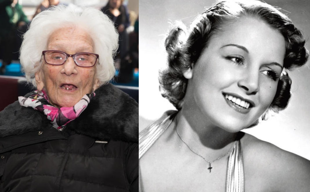 JULIE GIBSON, 105 YEARS OLD